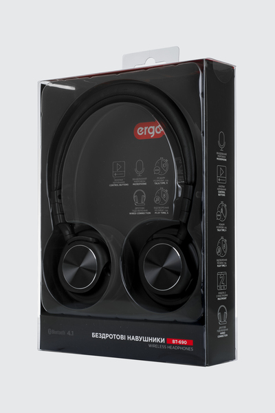 ... Photo product Headphones ERGO BT-690 Black ... 9119a537a369f