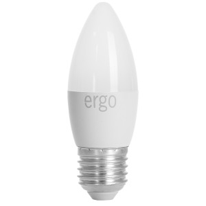 LED Lamp ERGO Basic C37 E27 6W 220V 3000K