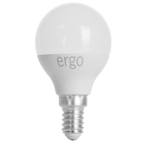 LED Lamp ERGO Basic G45 E14 6W 220V 4100K