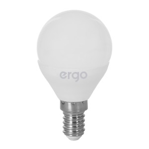 LED Lamp ERGO Basic G45 E14 6W 220V 3000K