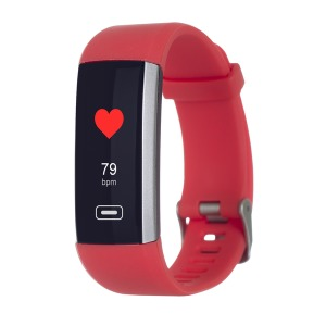 Fitness device ERGO Fit Band HR BP F010 Red