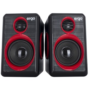 Multimedia acoustic ERGO S-165 USB 2.0 Red/black