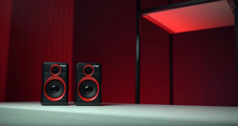 Сlassy, compact, powerful - new multimedia speakers from ERGO   ERGO